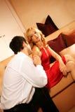 Couples attrayants et riches Photographie stock libre de droits