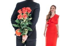 Couples au jour de valentines de St Images libres de droits