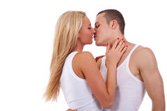 Couples avant baiser Photo stock