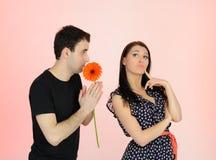 Couples ayant des problèmes dans le rapport. Photo stock