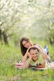 Couples ayant l'amusement Image libre de droits