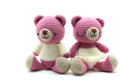 Couples bear doll Royalty Free Stock Photos