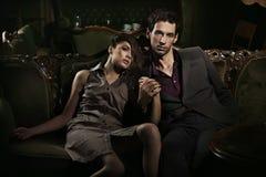 Couples beaux Photographie stock libre de droits