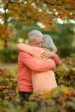 Couples caucasiens d'aîné Images libres de droits