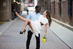 Couples chauds sur une fuite romantique Image libre de droits