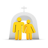 couples chrétiens illustration stock