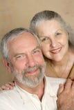 Couples commis Photographie stock