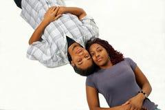 couples connectés Image stock
