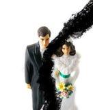 Couples déchirés Images libres de droits