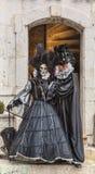Couples déguisés Image libre de droits
