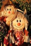 Couples d'épouvantail   Image libre de droits