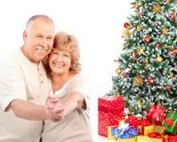 Couples d'aînés Image libre de droits