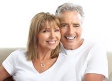 Couples d'aînés Photo libre de droits