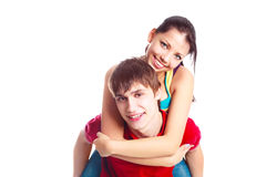 Couples d'adolescent Photo libre de droits