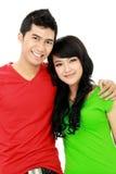Couples d'adolescent Photo libre de droits