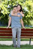 Couples d'adolescents Images stock