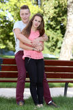 Couples d'adolescents Image libre de droits