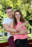 Couples d'adolescents Photos libres de droits