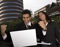 Couples d'affaires Image stock