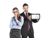 Couples d'affaires Photos libres de droits