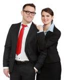 Couples d'affaires Images libres de droits