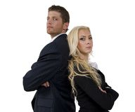 couples d'affaires photos stock