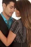 Couples d'affaires dans l'amour Images libres de droits