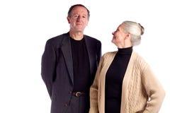 Couples d'affaires mûres Images stock