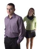 Couples d'affaires (ou pas) Photographie stock