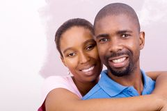 Couples d'Afro-américain Photo stock