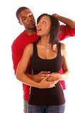 Couples d'Afro-américain Image libre de droits