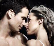 Couples d'amour Photos libres de droits