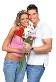 Couples d'amour Photos stock