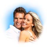 Couples d'amour Photographie stock
