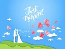 Couples d'amour de mariage Photographie stock libre de droits