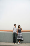 Couples d'amoureux malheureux Photos libres de droits
