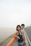 Couples d'amoureux malheureux Photo libre de droits