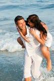 Couples d'amusement Photographie stock libre de droits