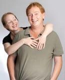 Couples d'amusement Photographie stock