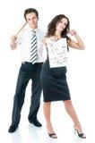 couples d'architectes Photo libre de droits