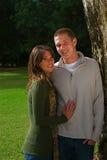 Couples d'automne image stock