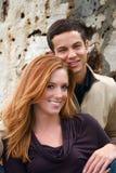 couples d'automne photographie stock libre de droits