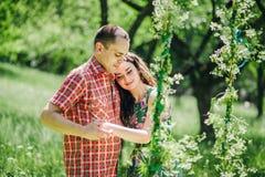 Couples d'histoire d'amour de vintage Images stock