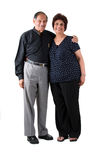 Couples d'Indien est de personnes âgées Photo stock