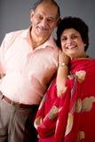 Couples d'Indien est de personnes âgées Photographie stock libre de droits