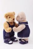 Couples d'ours de nounours Image libre de droits