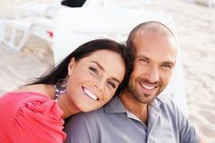 Couples d'une cinquantaine d'années Image stock