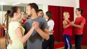 Couples dancing Latino dance Stock Photo