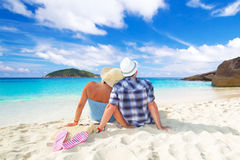 Vacances idylliques ensemble Photos stock