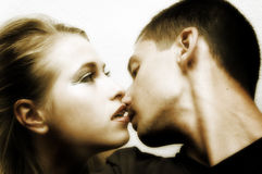 Couples dans l'amour